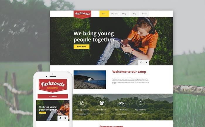 Summer Camp WP Theme
