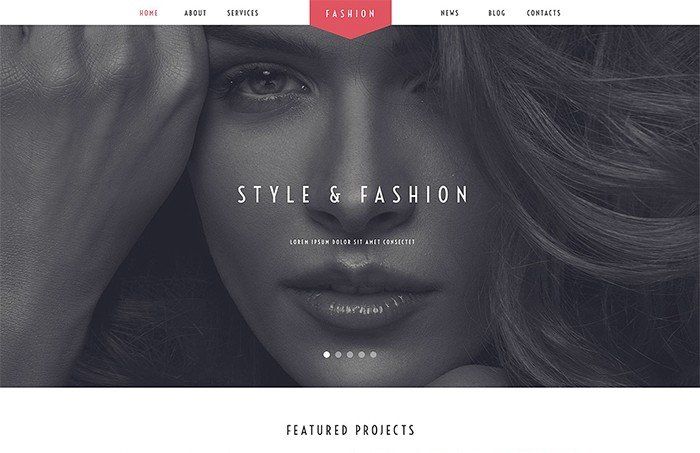 Fashion Stylist Salon WordPress Theme