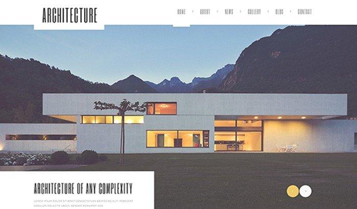 Architecture Guru - Magical WordPress Theme