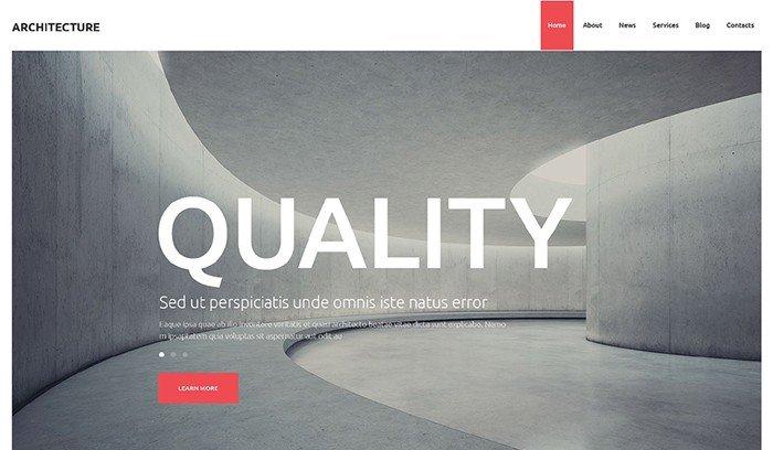 Unbelievable Architecture Studio WordPress Theme