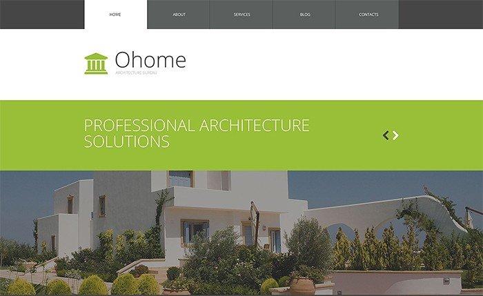 Unusual Architecture WordPress Theme