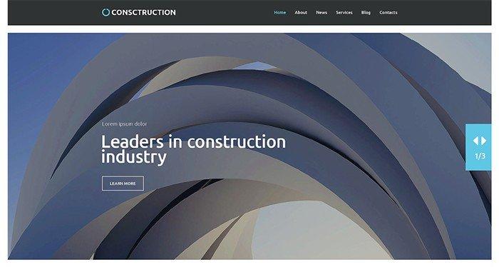 Amazing Construction Company WordPress Theme