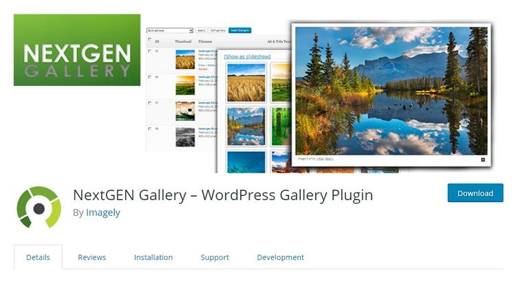 Best Plugins WordPress for an Creating Image Gallery