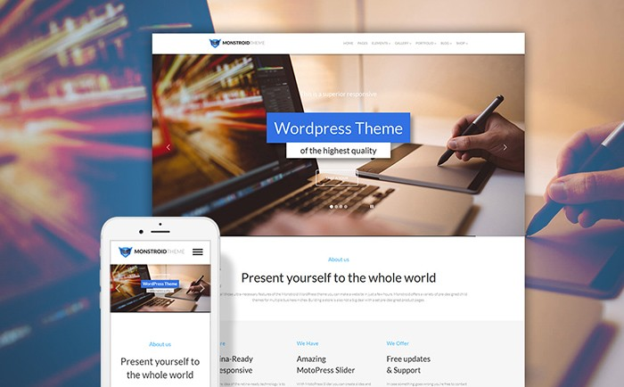 The Great Selection of 10 Brilliant Free and Premium Themes