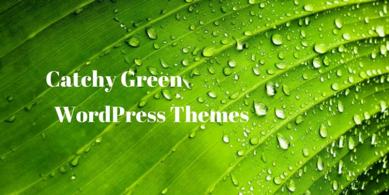 Green WordPress Themes