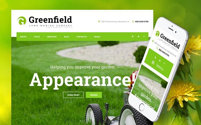 Lawn Mowing Company WordPress Theme