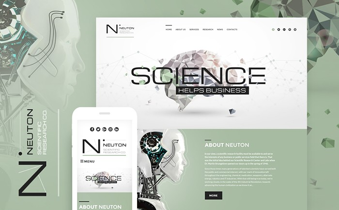 Online Lab Responsive WordPress Theme