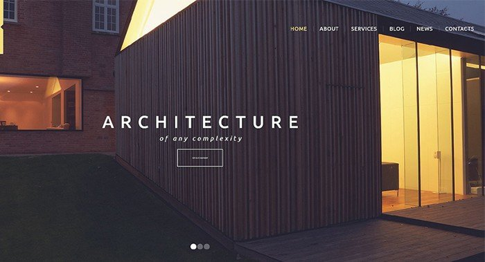 Shining Architecture WordPress Theme