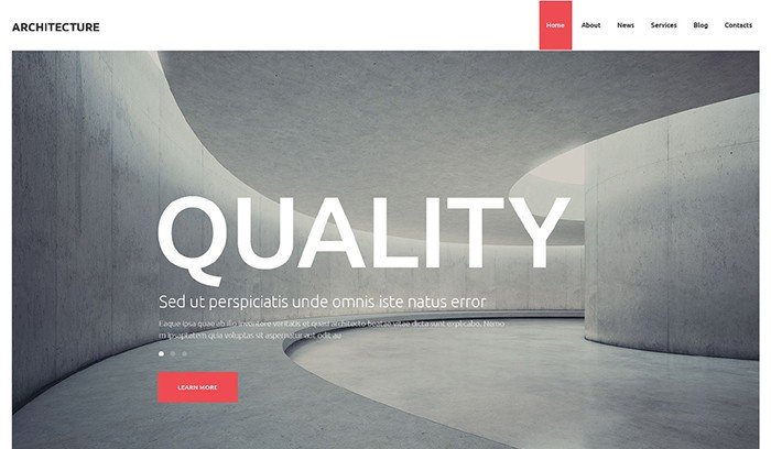 Unbelievable Architecture Studio WordPress Theme