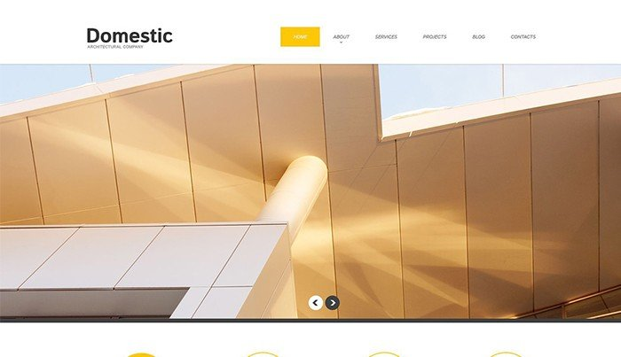 Marvelous Architecture WordPress Theme