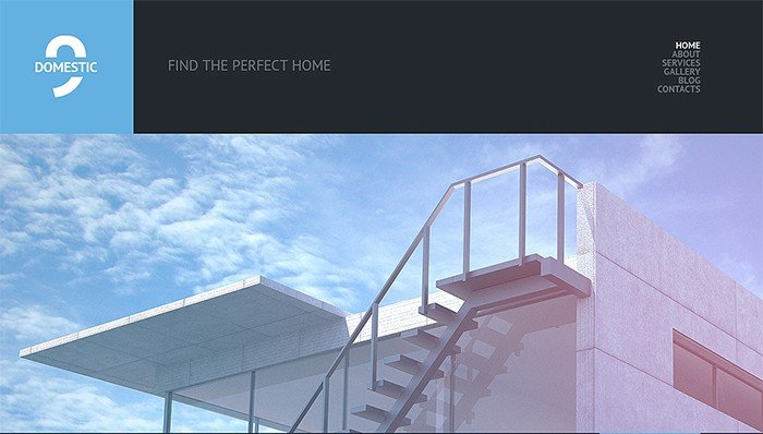 Eye-catching Real Estate Agency WordPress Theme