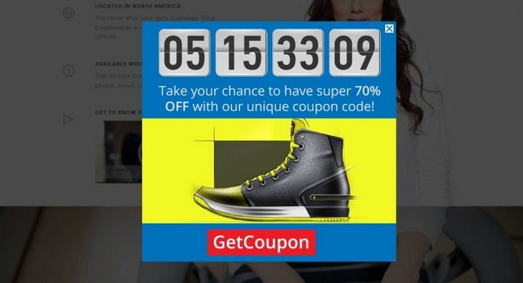 Coupon Offers + Countdown