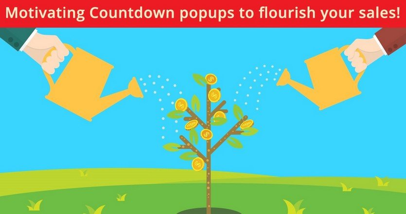 Motivating Countdown Popups to Flourish Your Sales!