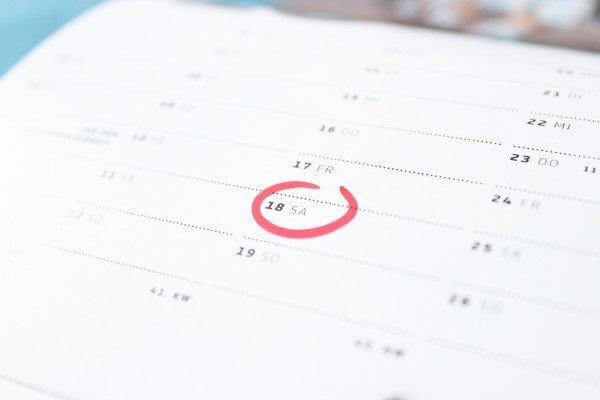 Create a Posting Schedule.