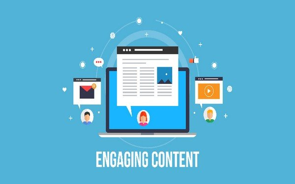 Share Engaging Content