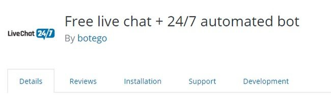 Live Chat 24/7 is virtual chat agent for your website.