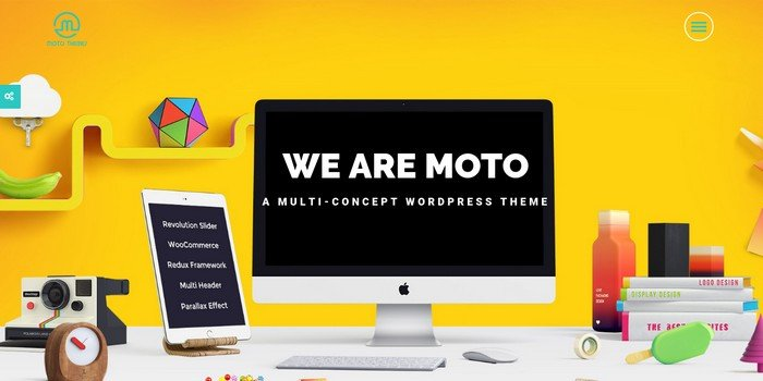 Moto Theme – The Best Marketing WordPress Theme?