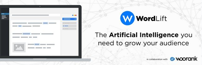 WordLift is one of the most popular and influential AI extensions.