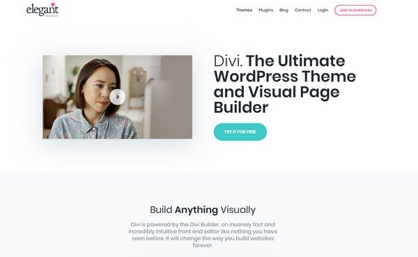 Using Divi, the users can swiftly add a new landing page.