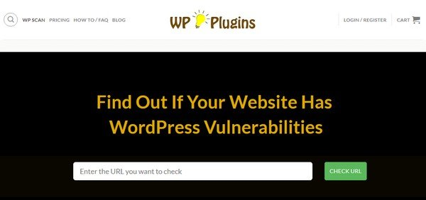 WP Plugins Vulnerability Detector checks your website for any possible vulnerability.