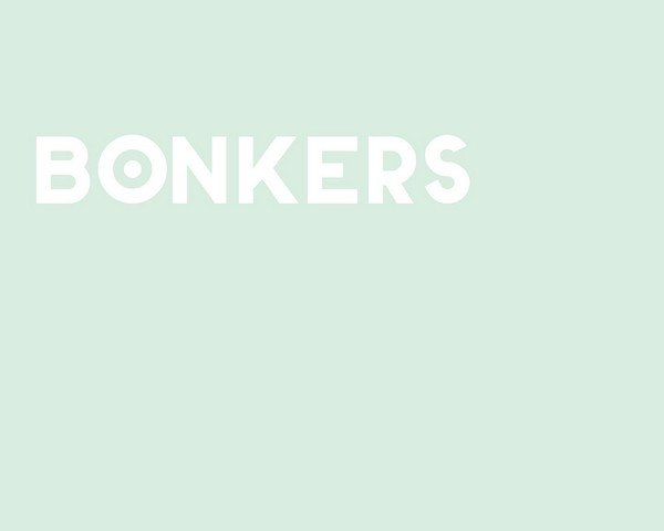 BONKERS is a free font for headlines.