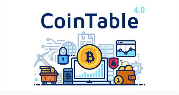 If you want real-time information of cryptocurrency, CoinTable is the perfect solution.
