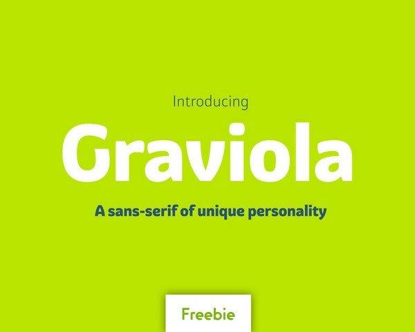 Graviola Regular contains Graviola Regular and Graviola Soft Medium and Medium-Italic.