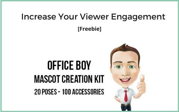 With the help of this mascot creation kit, you can create a creature that would stick in your customers' mind forever.