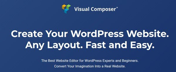 Visual Composer helps users to create beautiful layouts .