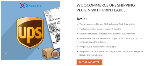 The WooCommerce UPS Shipping Plugin by PluginHive works using the official UPS API.