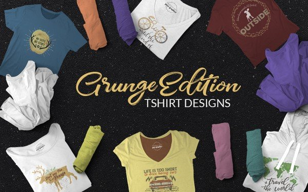 Cool and unique Grunge edition shirt designs.