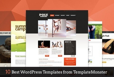 Download 10 WordPress Templates from TemplateMonster.