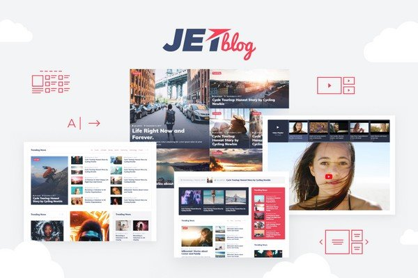 JetBlog is a plugin is to showcase attractive listings, tiles or add a news ticker.