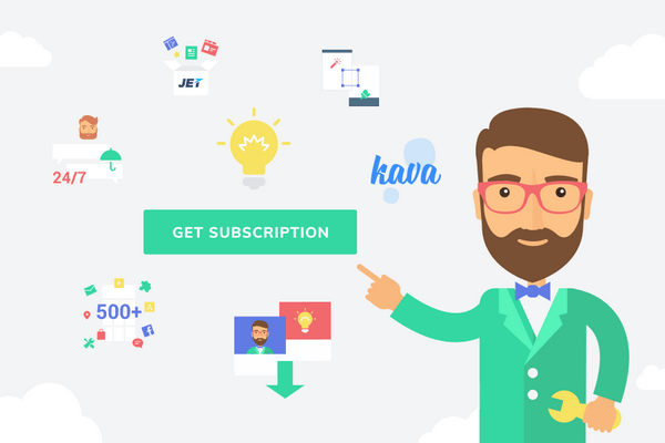 CrocoBlock provides a set of products in the form of a subscription.