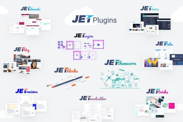 JetPlugin include plugins for blogging purposes, creating tabs and accordion blocks.