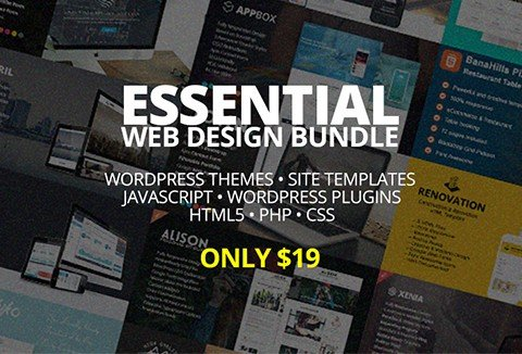 A great web design bundle for all the WordPress Ninjas.