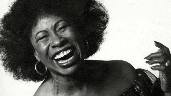 The jazz vocalist Betty Carter.