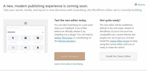 You can disable Gutenberg and continue using the previous version of the editor (just install the Classic Editor).