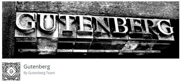 The brand new block-based editor Gutenberg.
