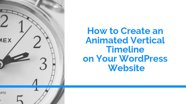 Learn how to create an animated vertical timeline on your WordPress website.