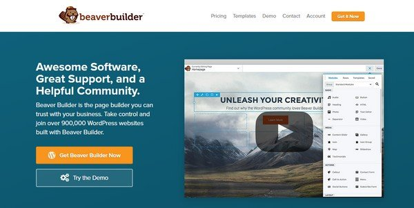 Learn how to use Beaver Builder to build a WordPress website.