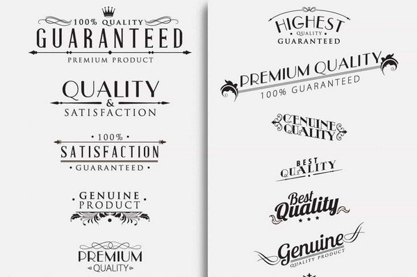 Mighty Design Bundle - Calligraphic design elements.