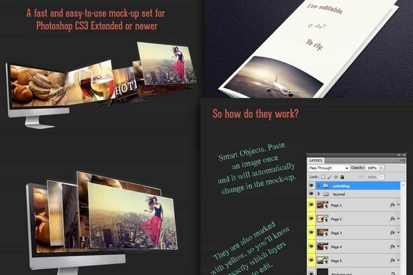 Business Presentation Mockups