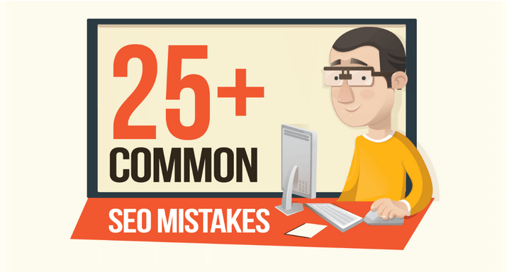 Infographic: SEO Mistakes That Are Ruining Your Website