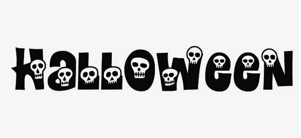 Calaveras is a cool Halloween font packed with skulls.