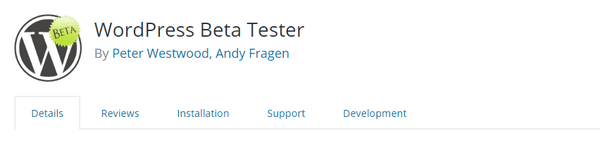Install the WordPress Beta Tester plugin and try out all the new features