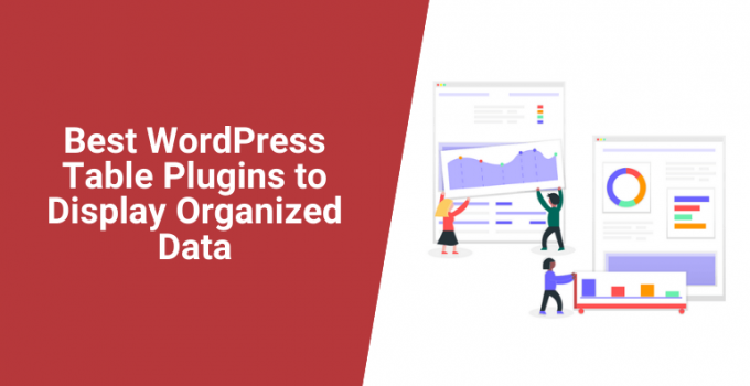 Best WordPress Table Plugins to Display Organized Data