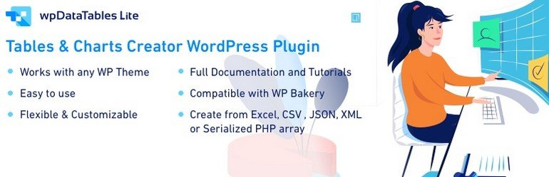 This is a chart WordPress plugins from TMS Plugins.