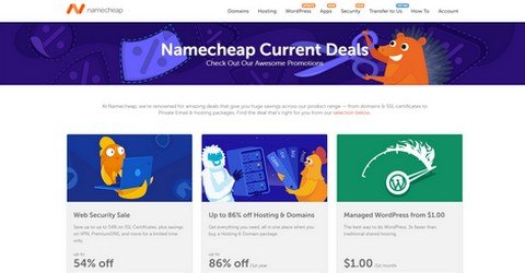 Namecheap Deals