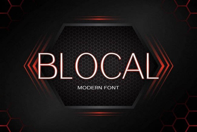 These fonts are modern and trendy and are great for digital projects